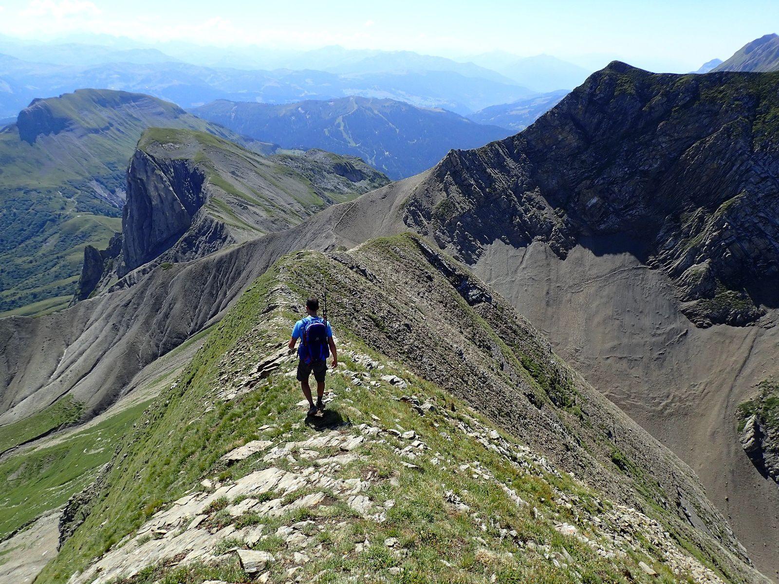 Mont Fleuri : Grande Forclaz > Tardevant; depuis les Confins 2/3