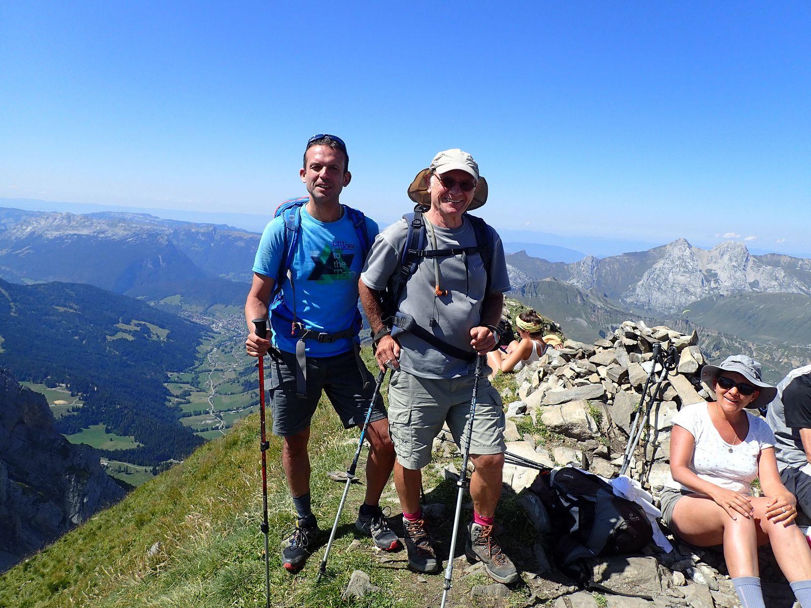 Mont Fleuri : Grande Forclaz > Tardevant; depuis les confins 3/3