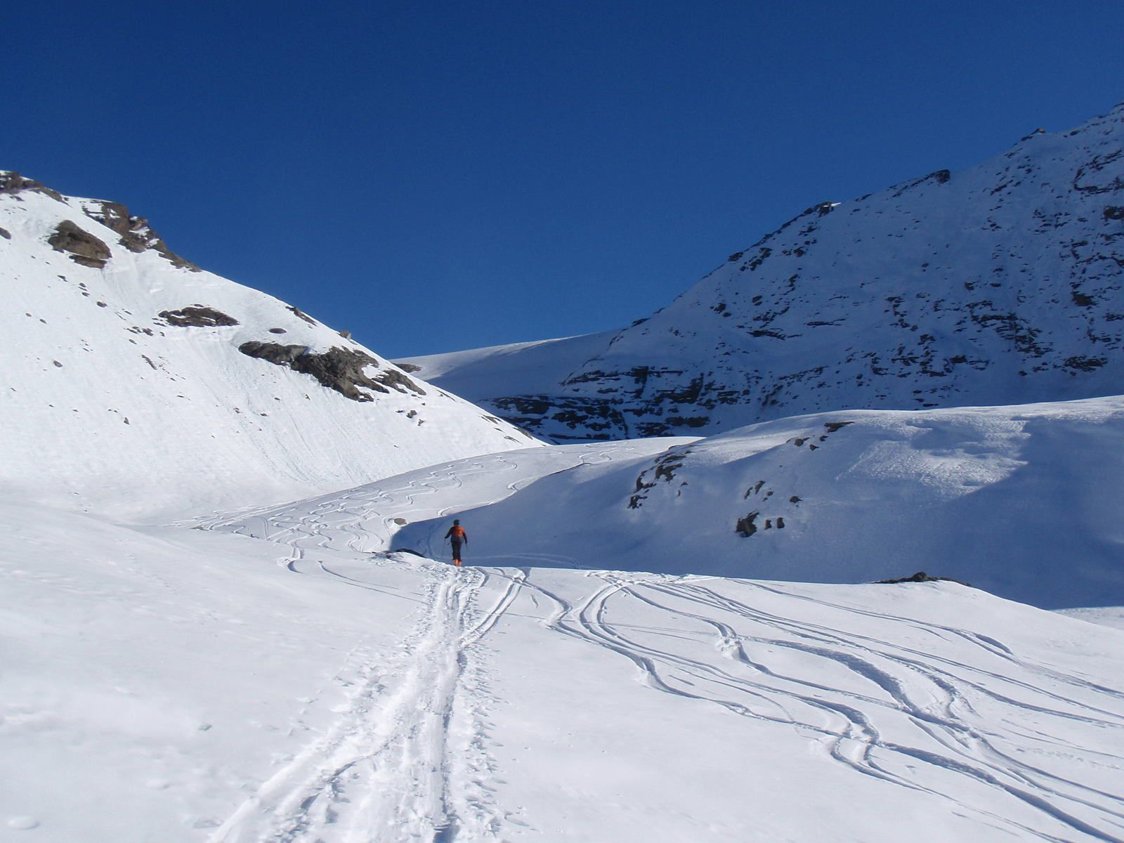 Albaron : Par le Glacier du Grand Fond