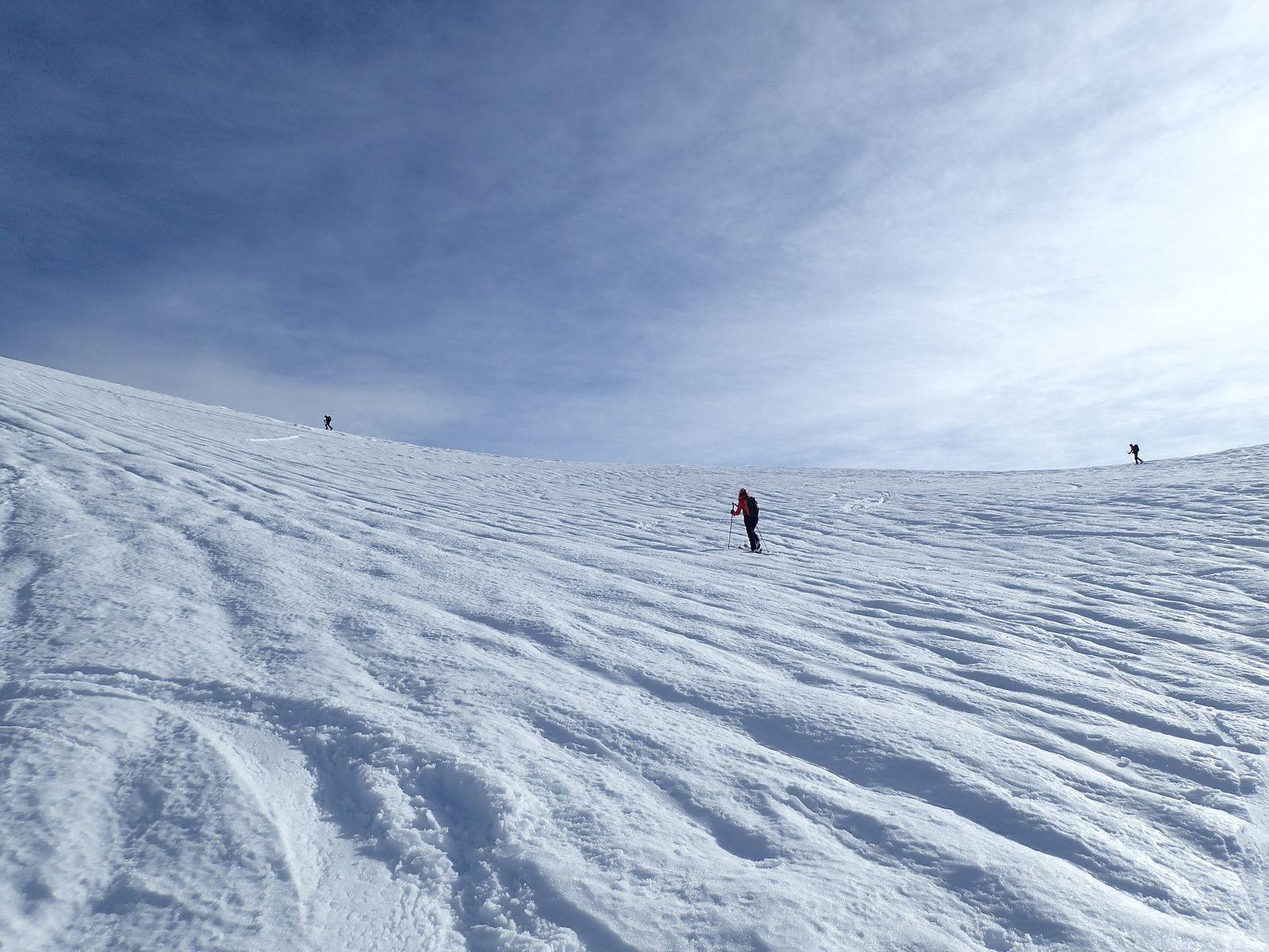 Montagne de Sulens : Depuis Plan Bois + tricotage 2/2