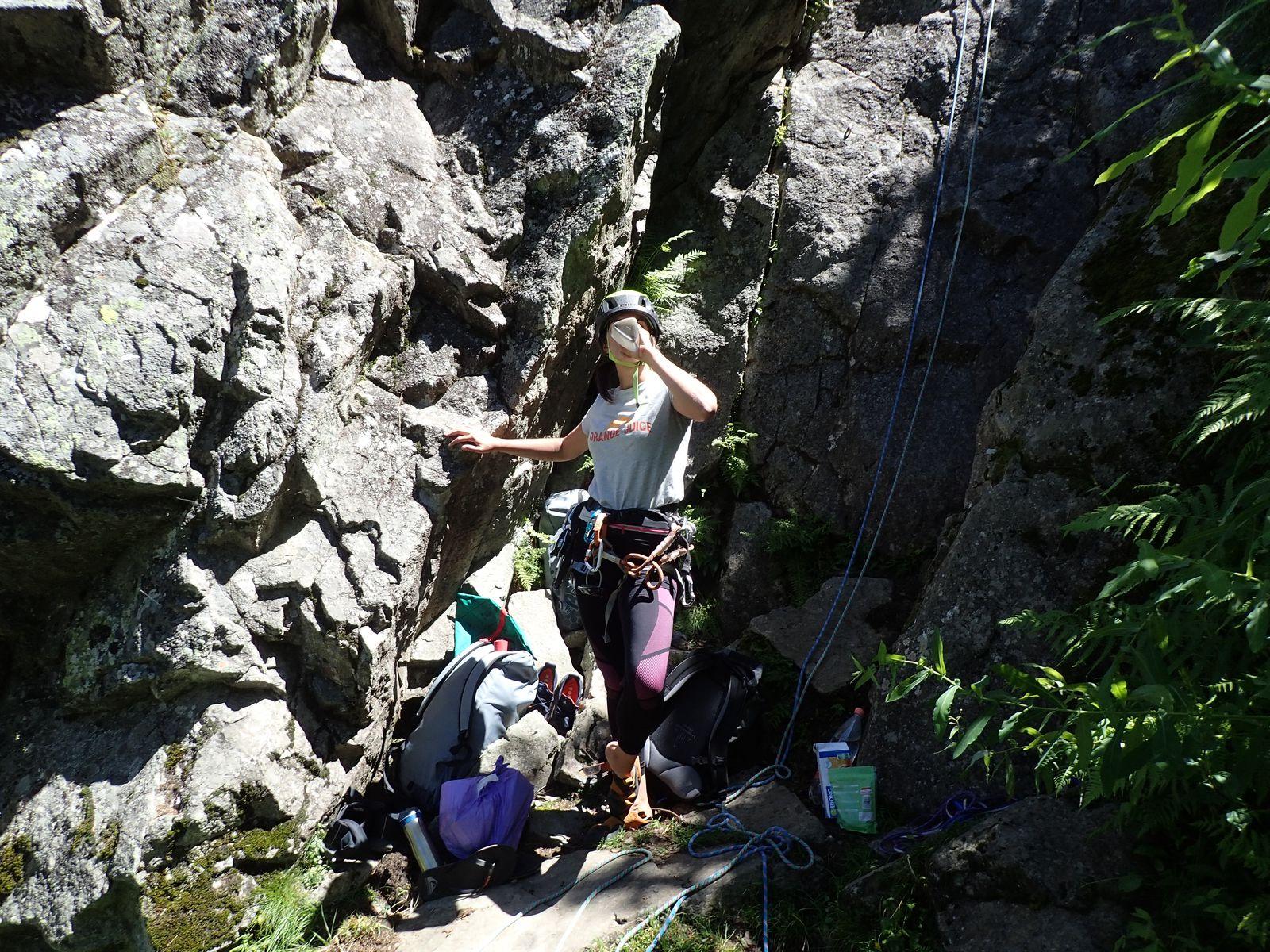 Dalle de Vallorcine : Retour aux Ours