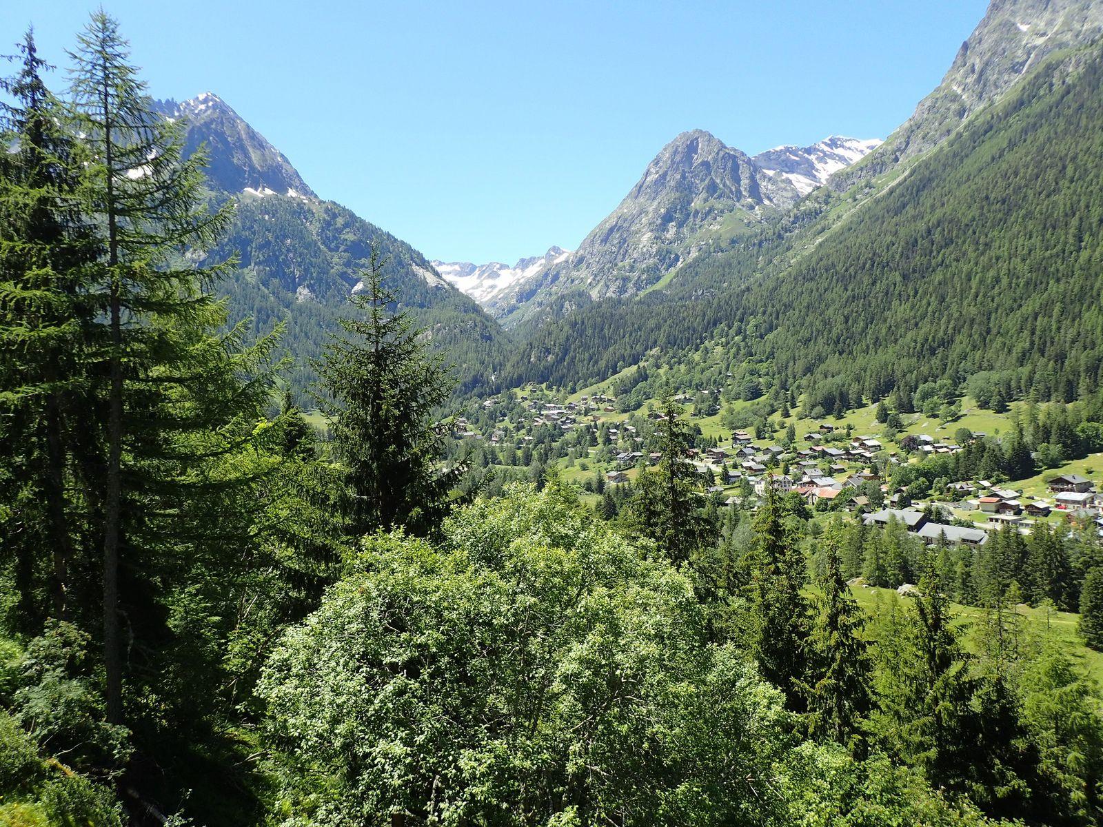 Dalle de Vallorcine : Pilier de Vallorcine
