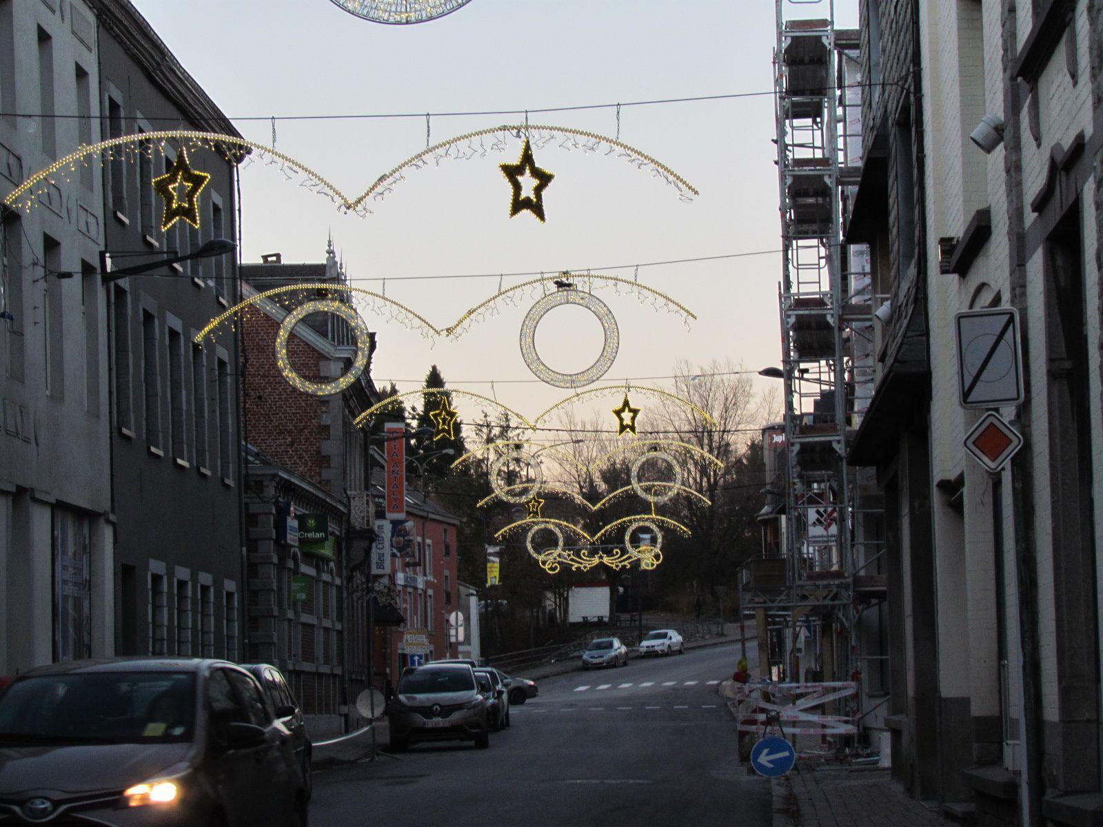 Les illuminations de fin d'année