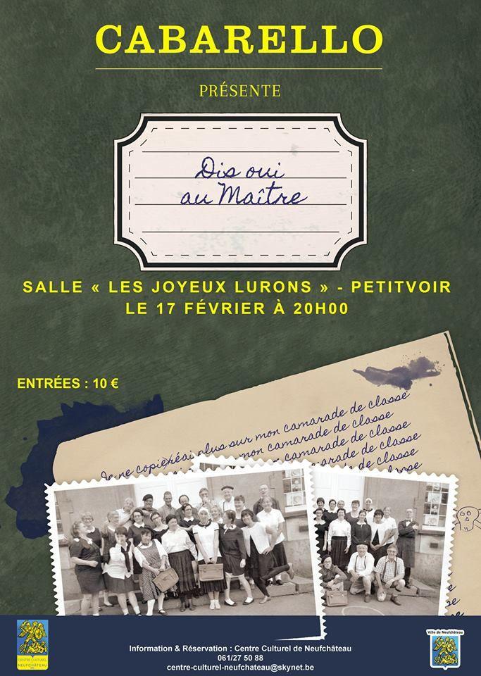 Théâtre à Petitvoir