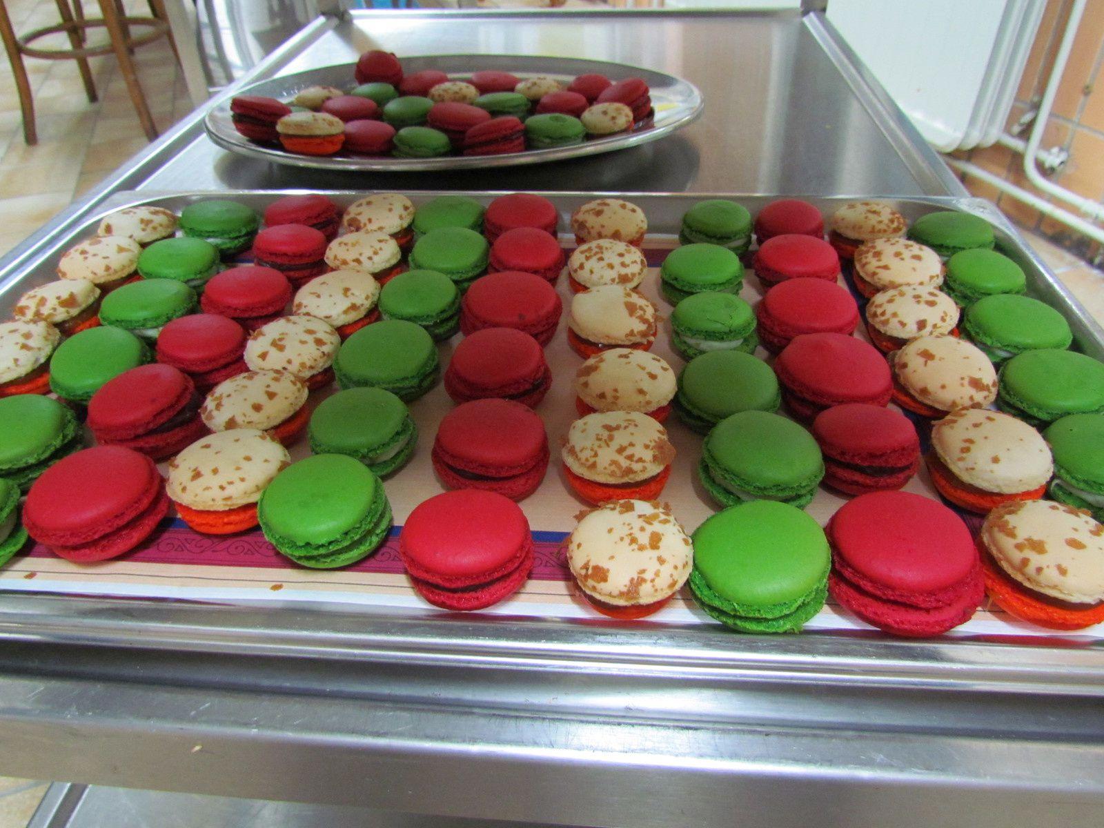 D la section Boulangerie-pâtisserie de l'Athénée Neufchâteau