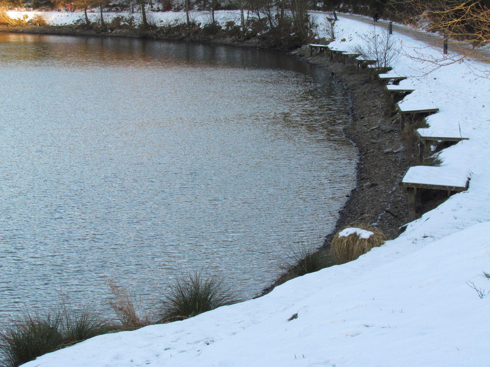 Le niveau du lac en crise