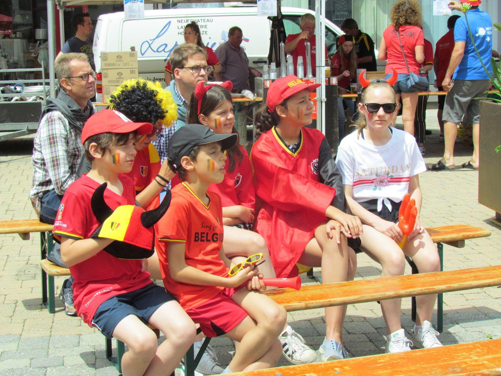 BELGIQUE 5-2 TUNISIE