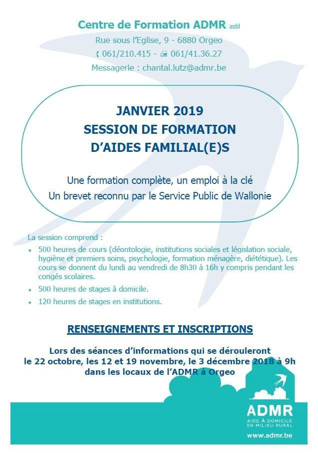 Formation aide-familiale