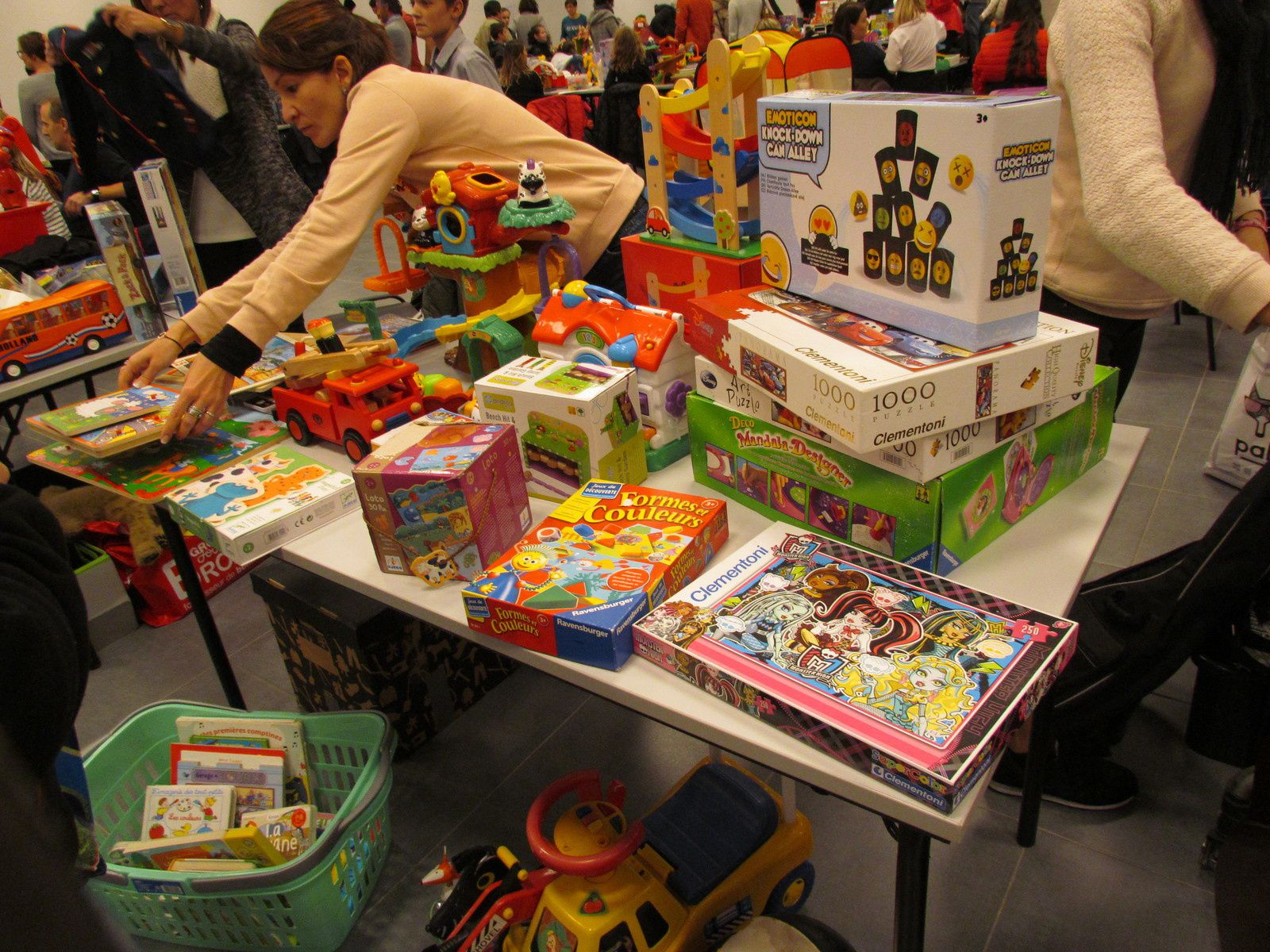La bourse aux jouets