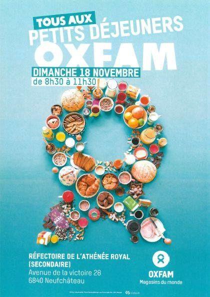 Petit déjeuner Oxfam