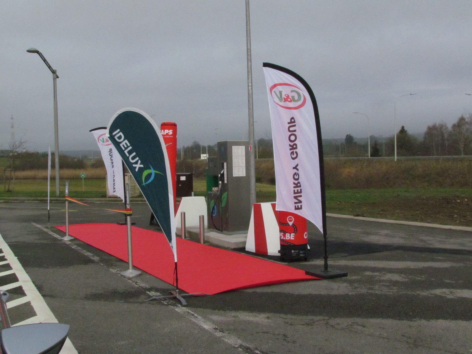 Première station CNG en province de Luxembourg