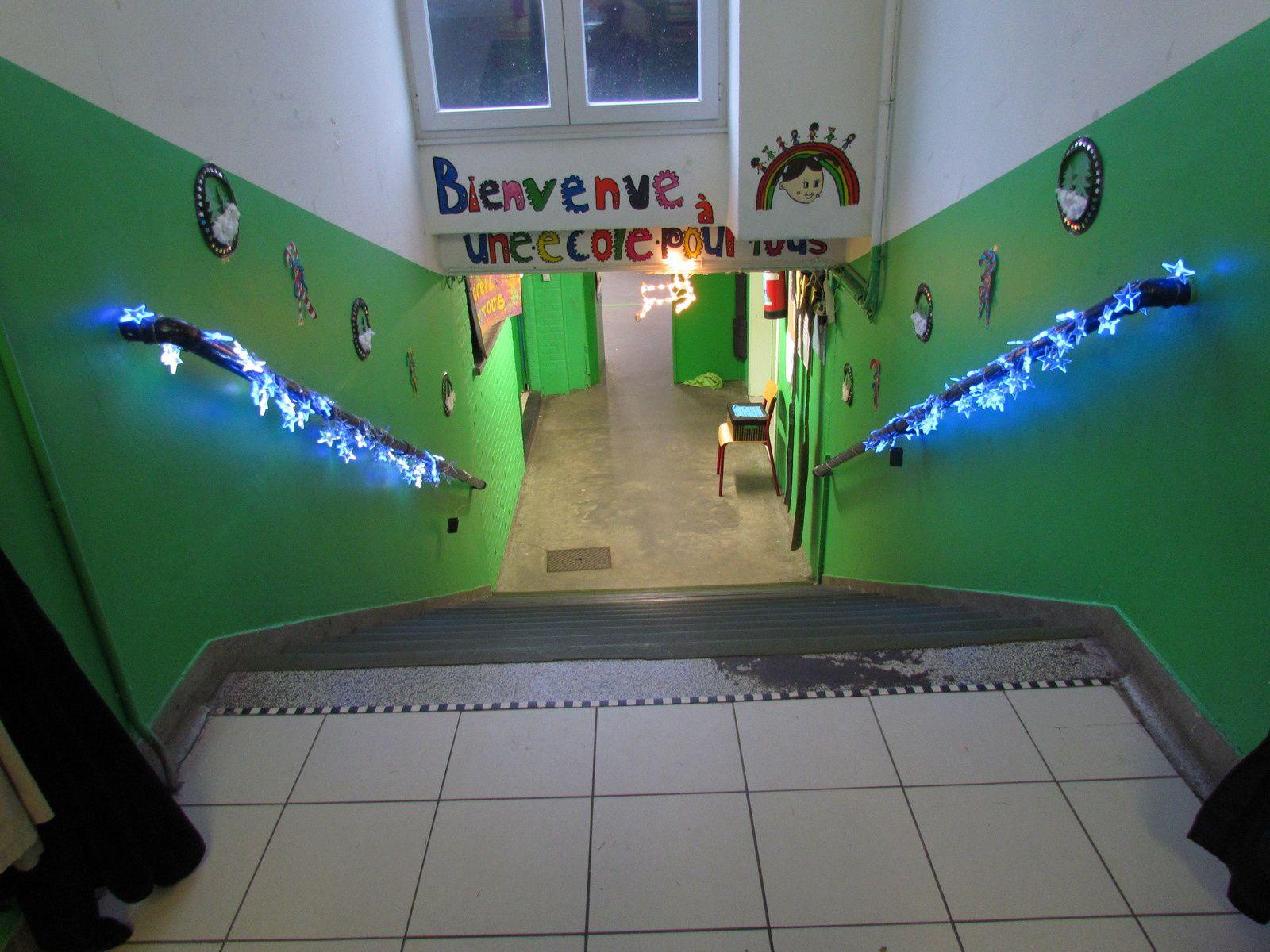A l'école Arsène Geubel (Athénée)