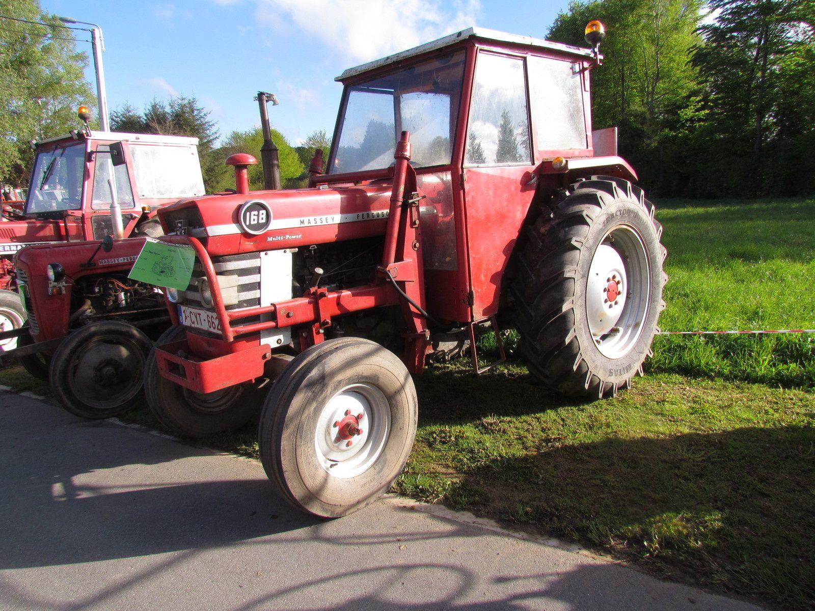 Concentration de tracteurs