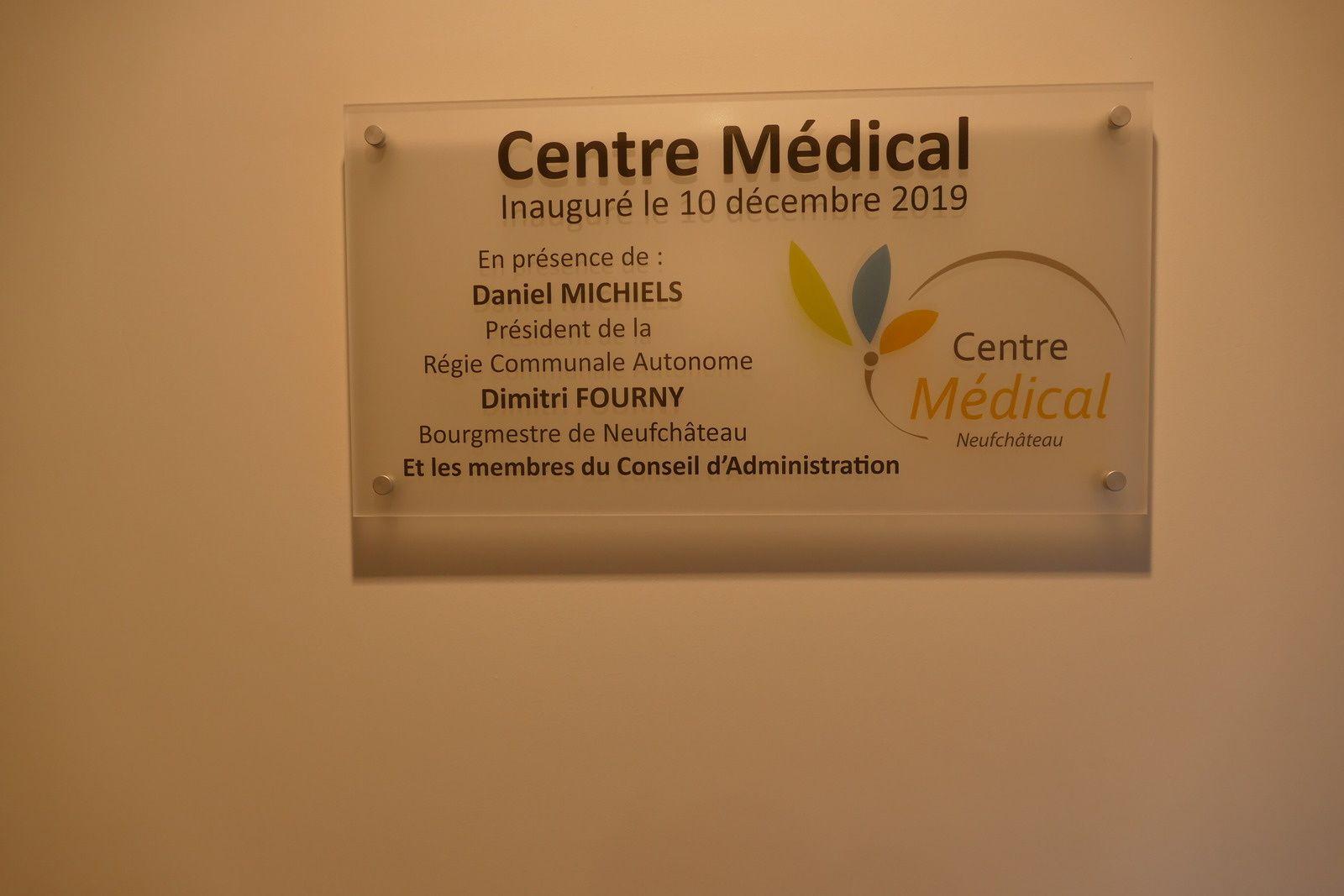 Inauguration de la Maison médicale