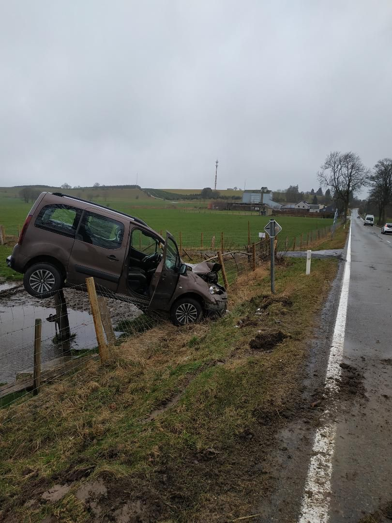 Accident spectaculaire