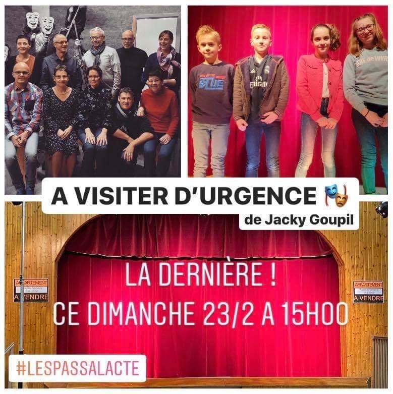 Théâtre à Longlier