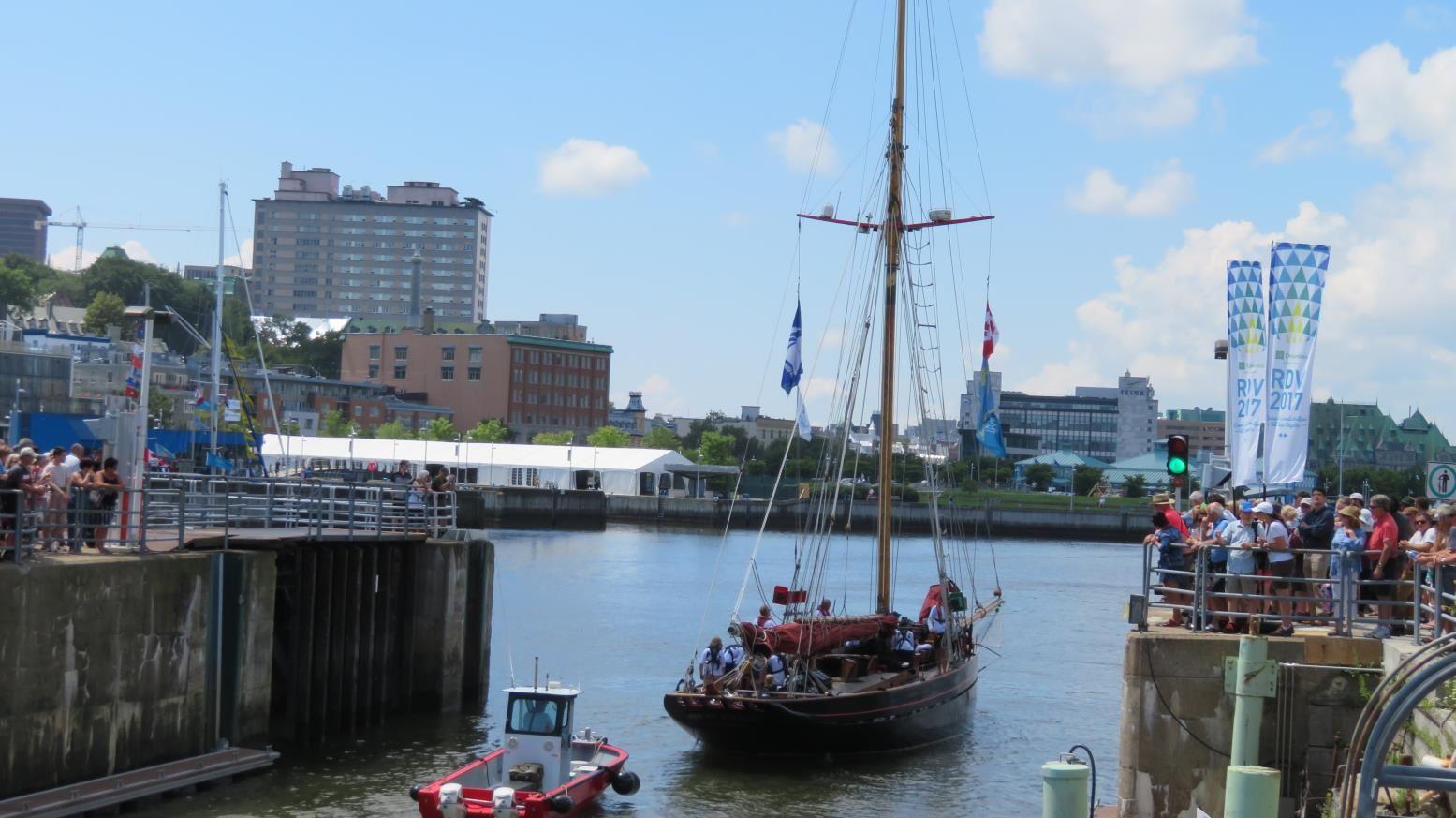 Album photos : RDV des voiliers à Québec