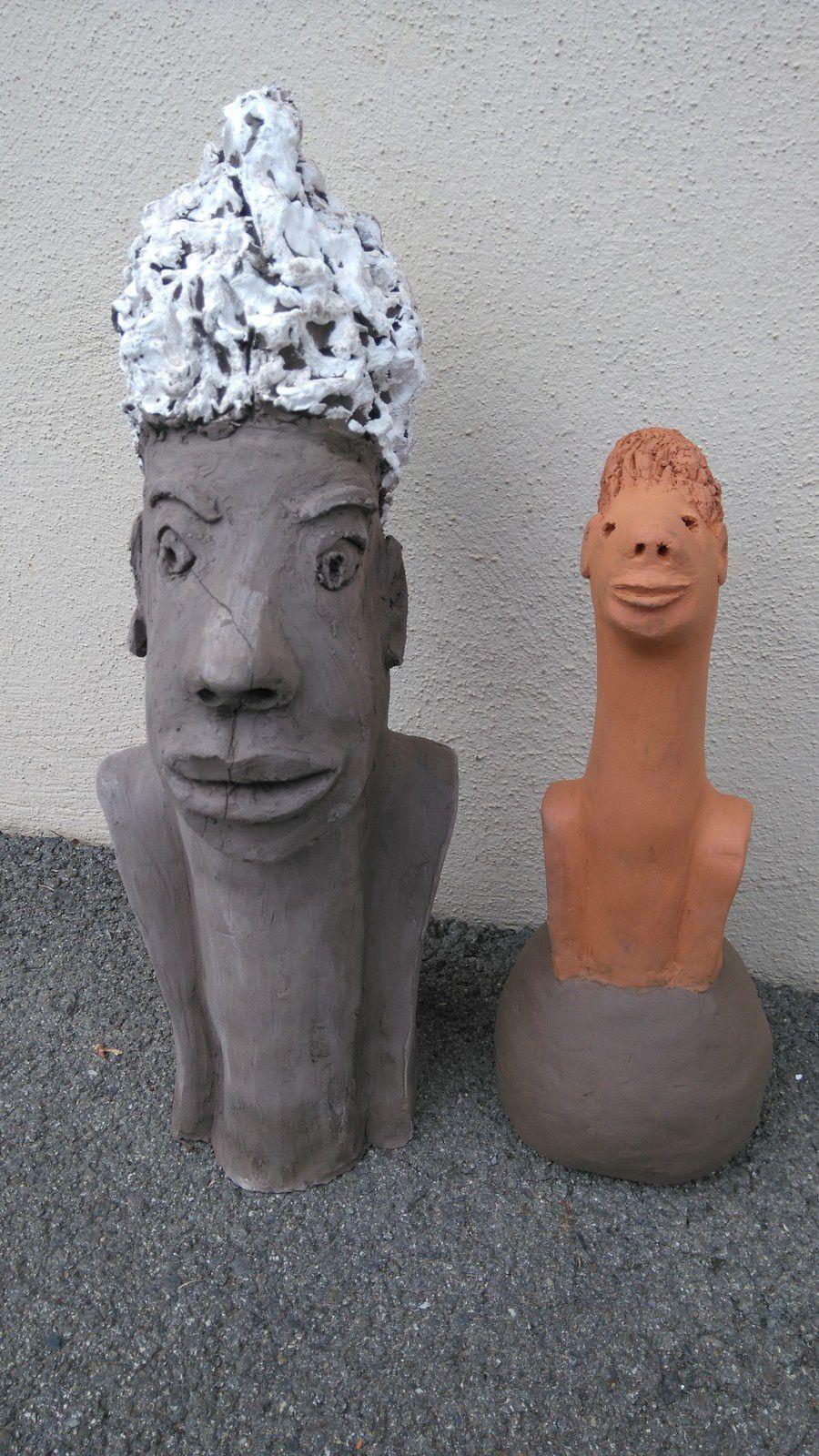 Sculpture de Monique