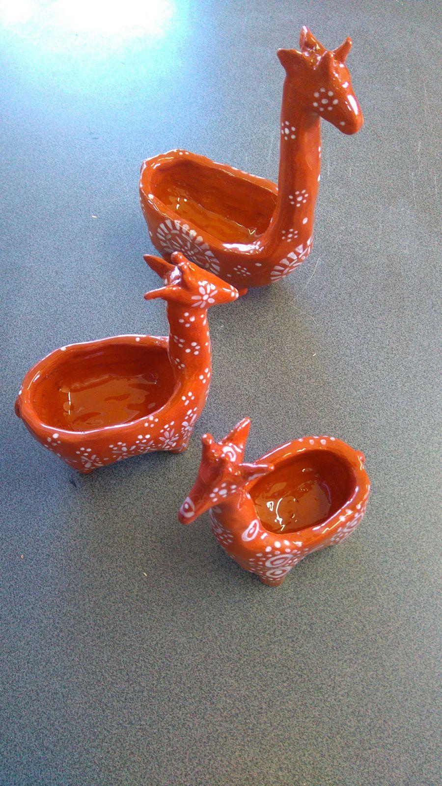 Pots à cactus de Brigitte