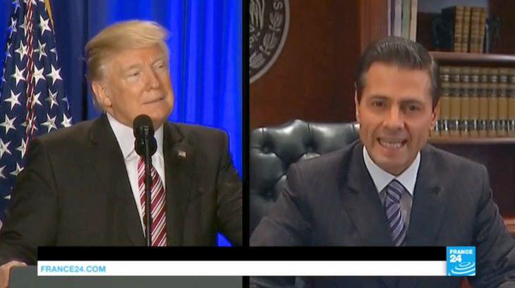 Trump vs Pena Nieto