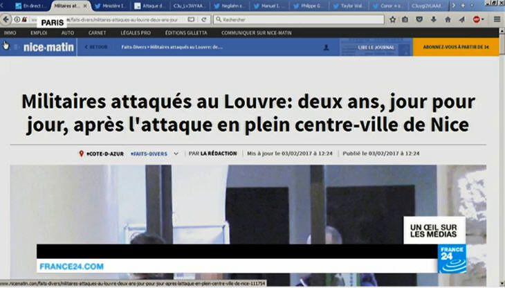Attaque du Louvre