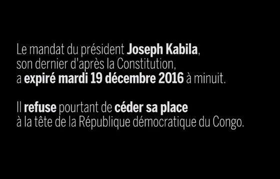 """Kabila est le mal Congolais"""