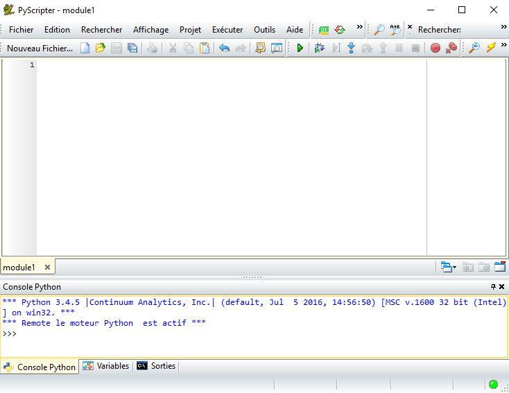 #TutorielPython3 - Initiation à la programmation : Atelier#1