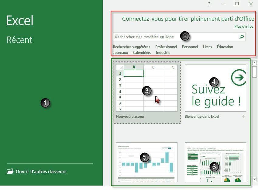 TutorielExcel - Apprendre à utiliser Excel comme couteau suisse : Découverte de l'interface #2