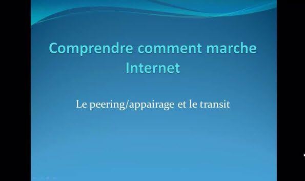Comprendre comment marche Internet #9 : Le peering/appairage et le transit