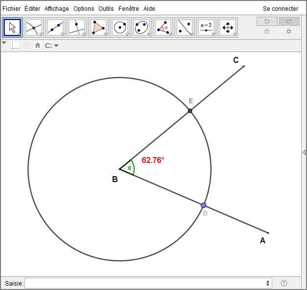 Tracer la bissectrice d'un angle avec le compas - Atelier #2