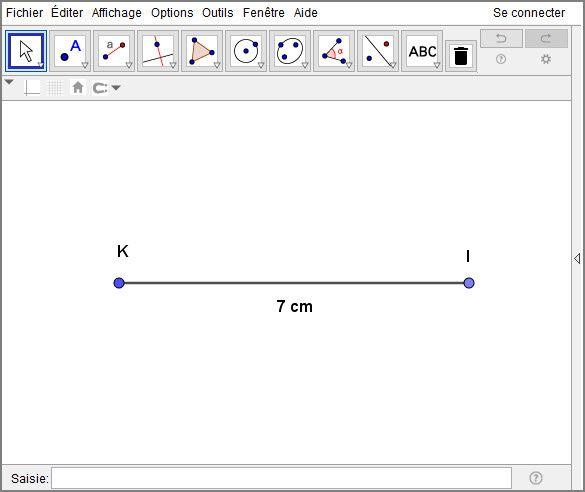 Construction d'un triangle rectangle isocèle avec le compas - Atelier #1 - Le tracé