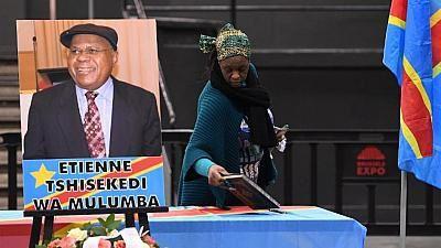 Les hommages à l'opposant Tshisekedi