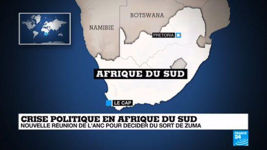 """Afrique du Sud : le sort du président Zuma """"dans les prochains jours"""""""