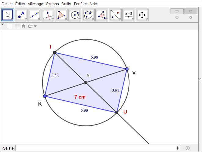 Construction d'un rectangle avec le compas - Atelier #1- Le tracé