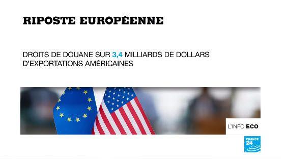 L'Europe riposte aux droits de douane américains