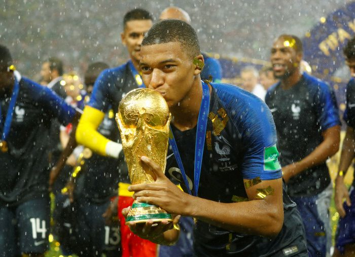 Kylian Mbappé fait don de sa prime de victoire à la Coupe du monde