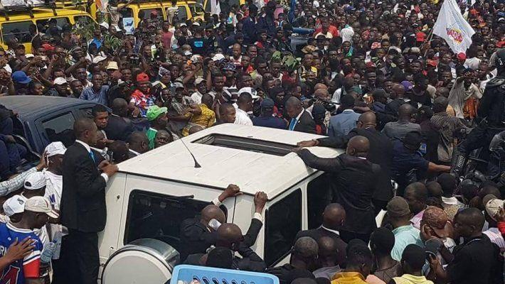 Retour triomphal de Jean-Pierre Bemba à Kinshasa