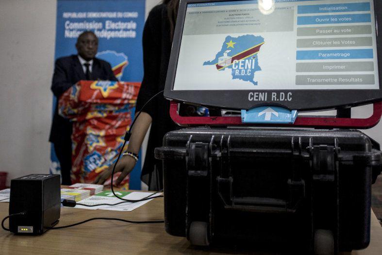 Une machine à voter