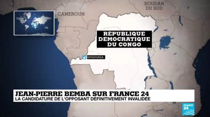 Réaction de Bemba sur France 24