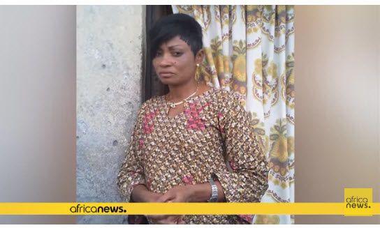 La journaliste congolaise Sylvanie Kiaku