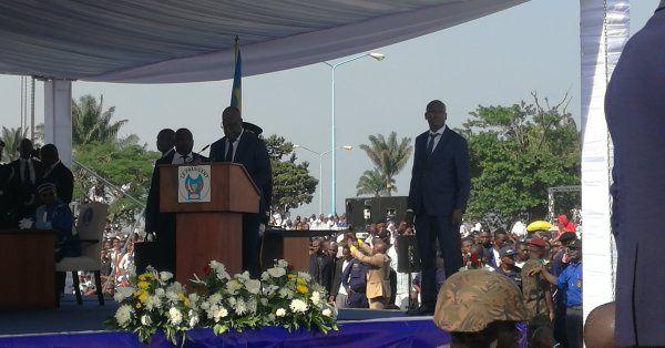 Palais de la Nation, Kinshasa  le 24/01/2019