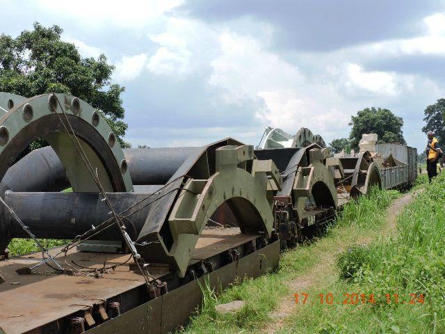 Les turbines du barrage hydroélectrique de Katende (Kananga)