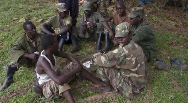 Les miliciens ADF