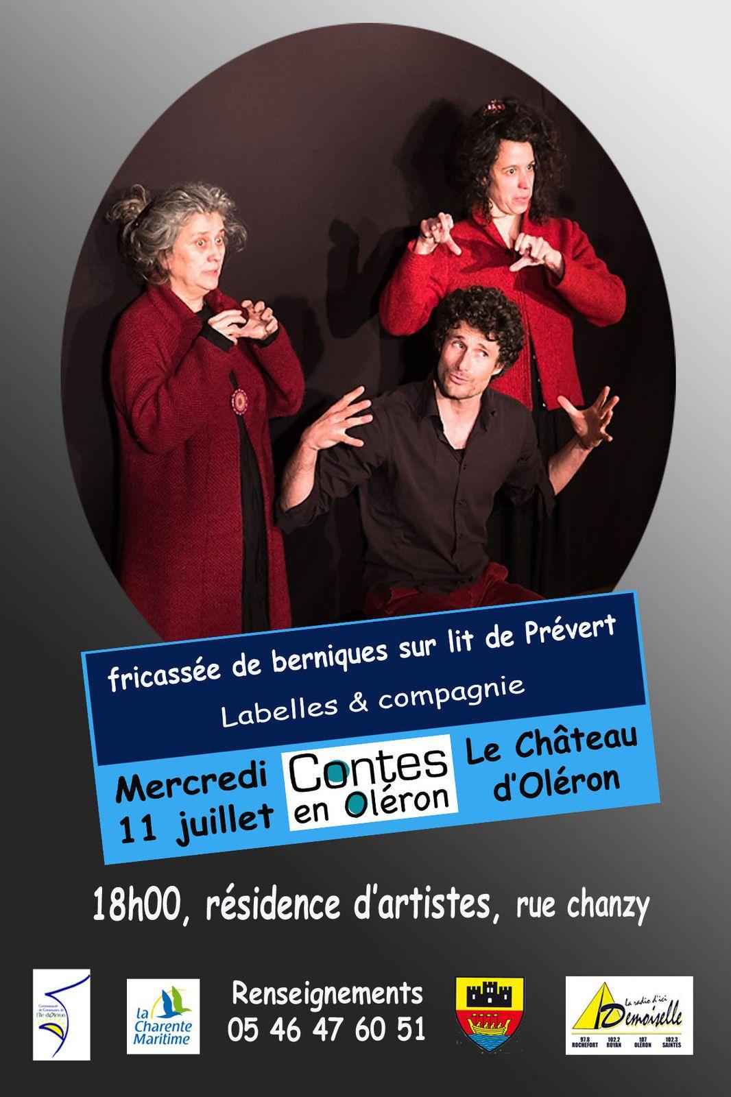 Labelles et Cie : Fricassée de Berniques sur un lit  de Prévert