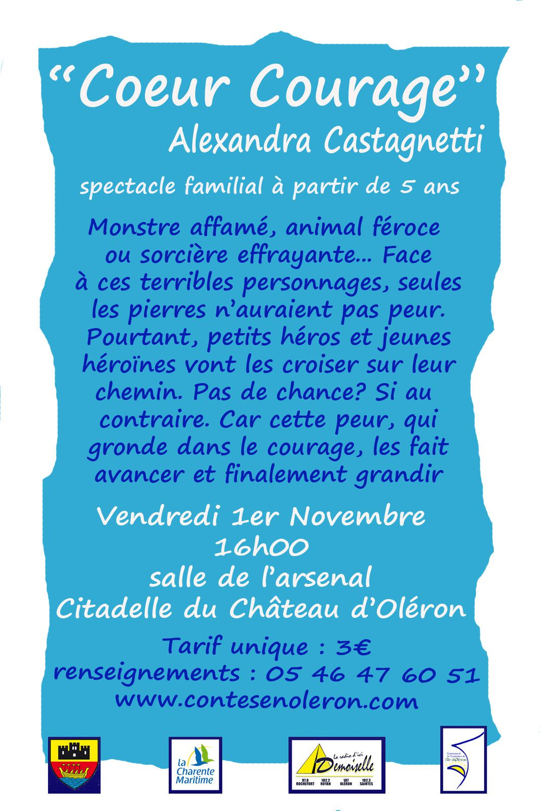 "Alexandra Castagetti ""Coeur Courage"""