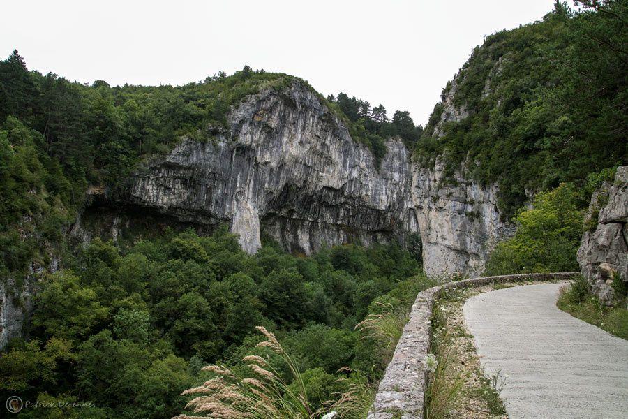 La gervanne - Les Gorges d'Omblèze