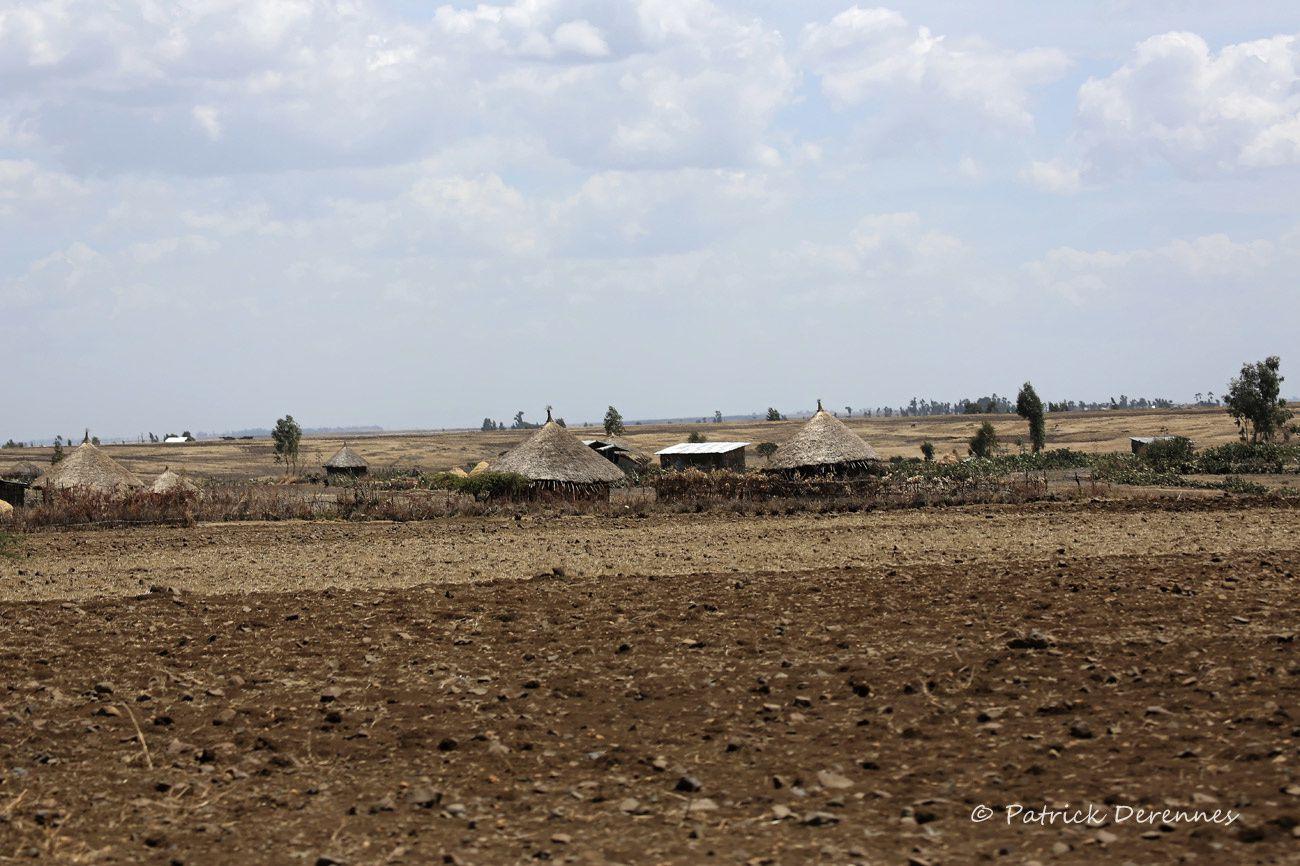Hauts plateaux d'Ethiopie - habitats traditionnels