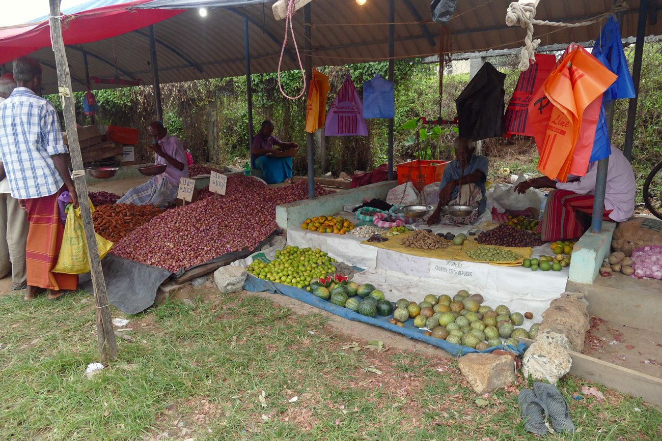 Sri Lanka - Le marché commun
