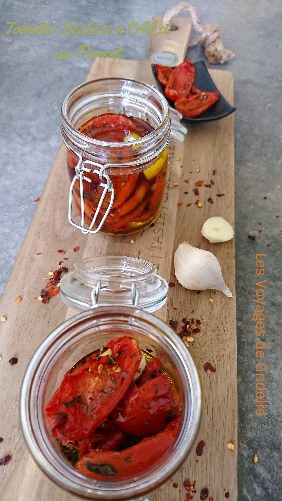 Tomates Séchées à l'Ail et au Piment