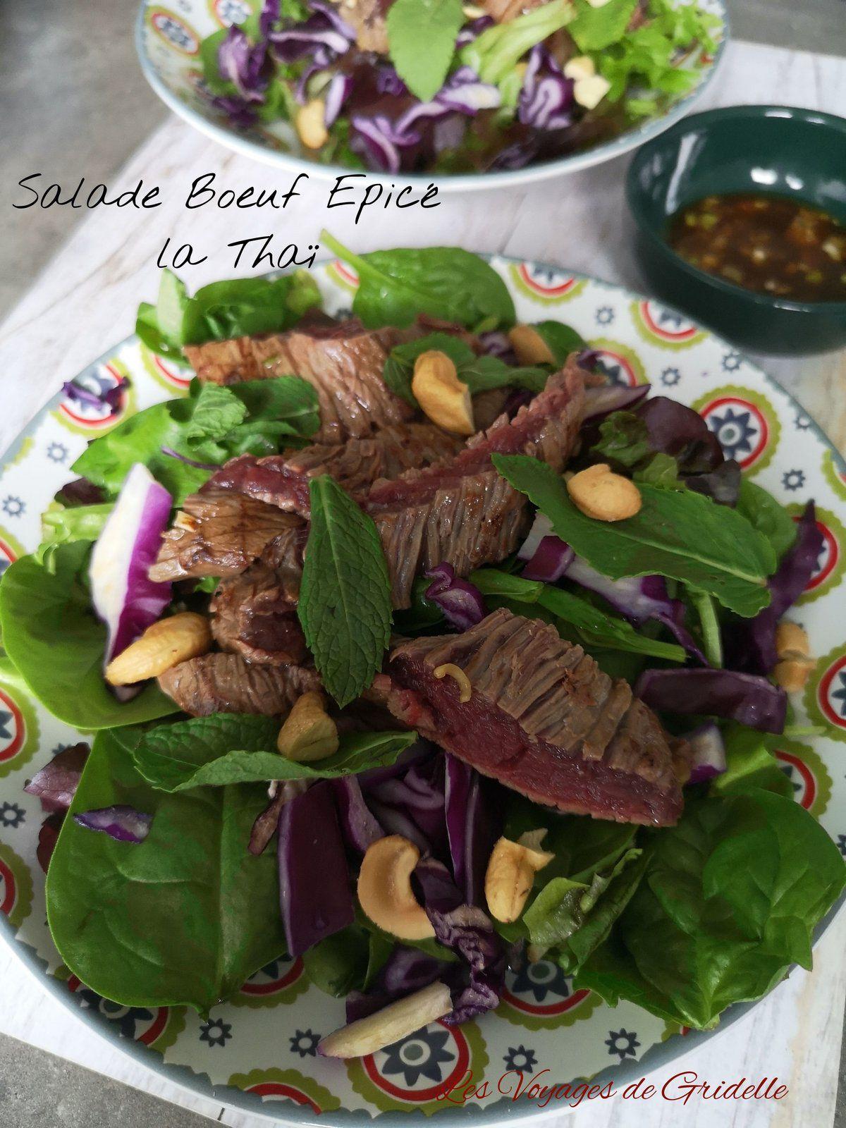 Salade de Boeuf Epicé à la Thai